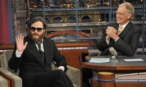 His infamous appearance on David Letterman.