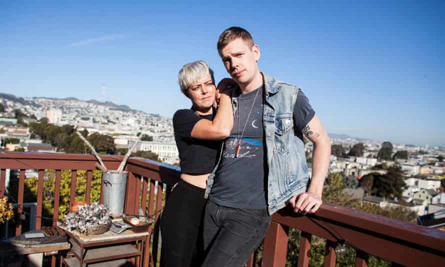 Ashley Wenham, an artist and designer, and Stephen Meeneghan, a naturopathic doctor and acupuncturist, are being evicted by their San Francisco landlord due to rising rents in the city. They plan to move to LA.