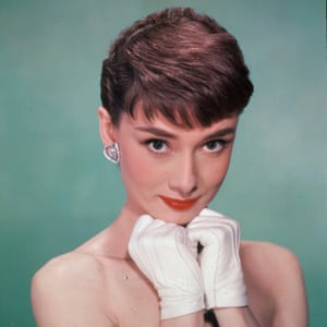 Audrey Hepburn's thicker brows emphasised her doe eyes.