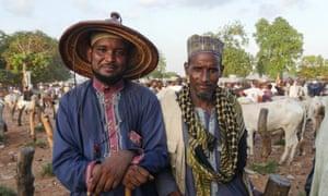 Two Fulani herdsmen.