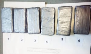 Part of the cocaine bust at Budi Budi in Papua New Guinea