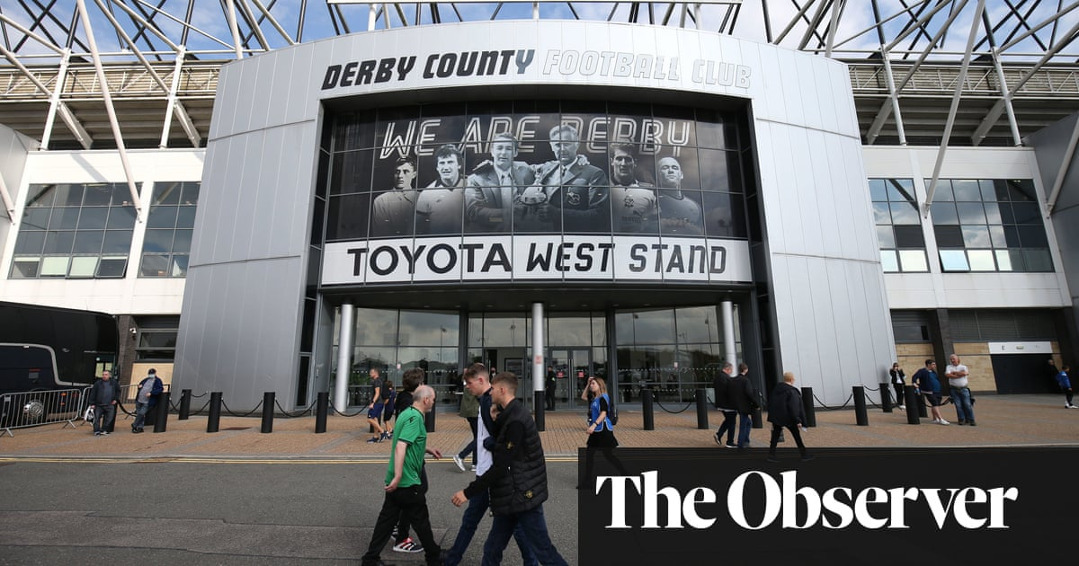 Derby County facing potential 21-point deduction in administration