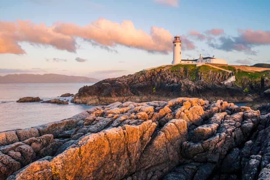 Fanad Head Lighthouse in Donegal