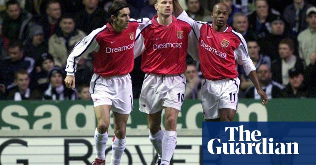 8dcff367c6f Golden Goal  Dennis Bergkamp for Arsenal v Newcastle (2002)