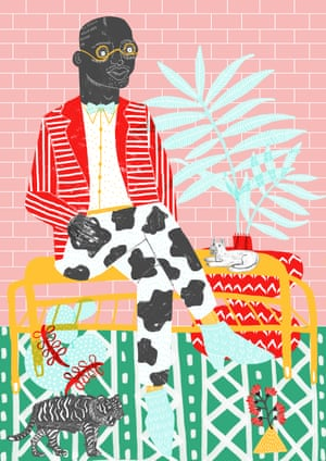 Dandy (2015)Over the next couple of years, she created two more sapeur illustrations – inspired in part by the book Gentlemen of Bacongo which documented the sapeur movement: 'I was completely inspired by the amazing clothes and setting; I love the amazing style and confidence'