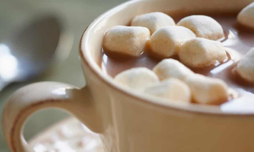 Galaxy Ultimate Marshmallow hot chocolate contains 0.8g –more than a typical packet of ready-salted crisps (0.46g)