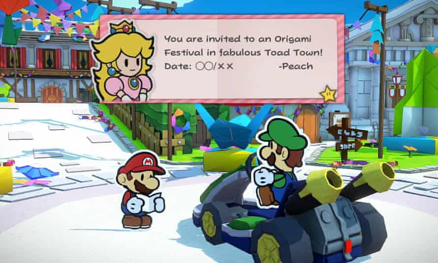 Paper Mario: The Origami King.