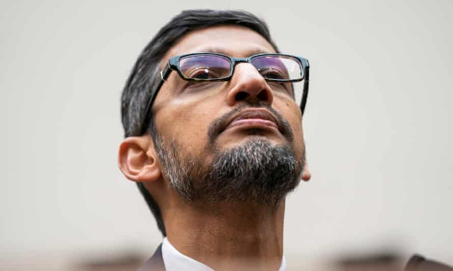 Sundar Pichai has been Google's CEO for four years.