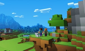 Constructive … worldwide favourite Minecraft lets groups of eight play together.