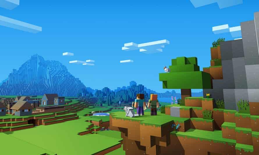 A dozen experiences in one … Minecraft