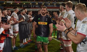 Chris Robshaw and Harlequins' hopes of a quarter-final place look bleak after a narrow defeat to Ulster.