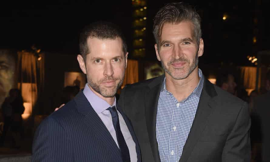 DB Weiss and David Benioff. The pair will act as writers and producers of the trilogy.