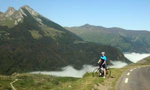 Green Bike Pyrenees