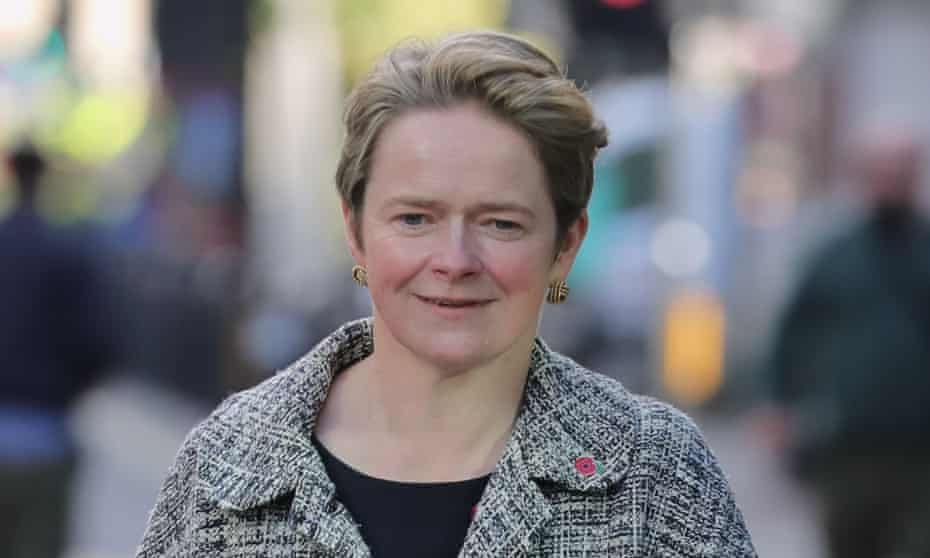 Dido Harding, the head of NHS test and trace