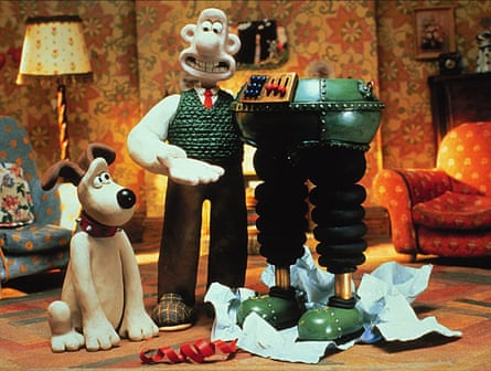 Cracking product … Wallace and Gromit.