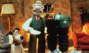 Still from the 1993 film Wallace & Gromit: The Wrong Trousers