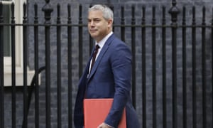Stephen Barclay arriving for cabinet this morning.