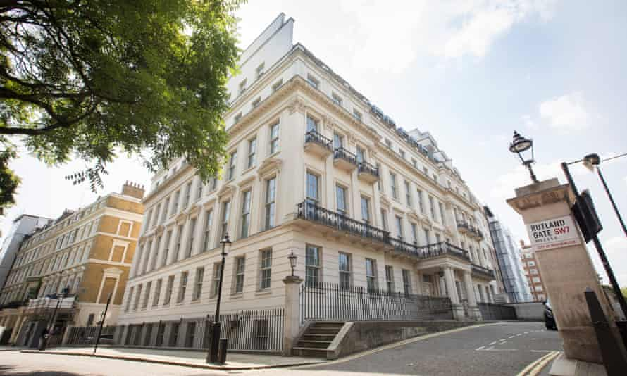 The central London property which Cheung Chung-kiu bought for £205m this year