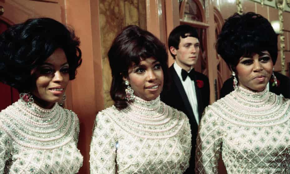 Diana Ross, Mary Wilson and Cindy Birdsong at the London Palladium in 1968.