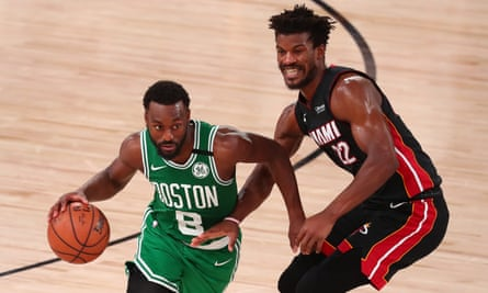 Tatum And Brown Help Boston Celtics Cool Miami Heat In Game 3 Of East Finals Nba The Guardian