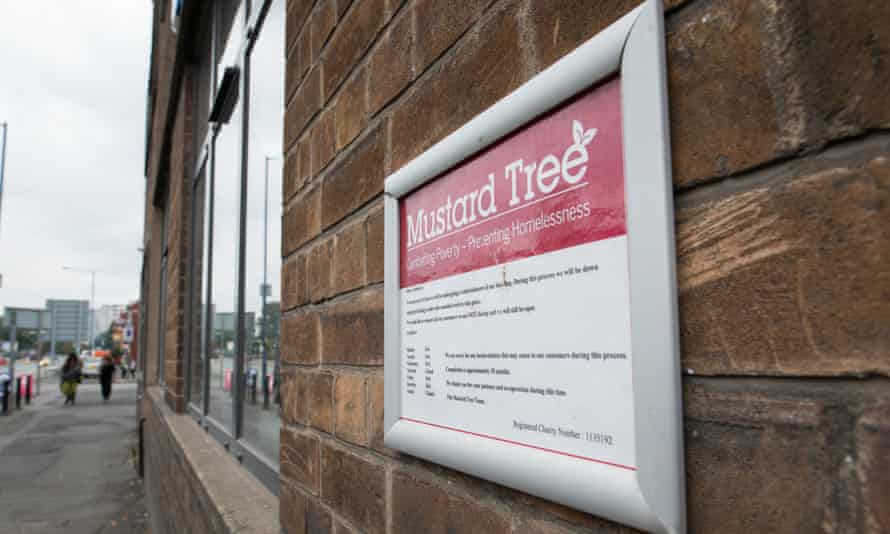 The Mustard Tree is a charity helping the homeless population of Manchester.