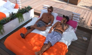 Eyal Booker chats with Niall Aslam on the third episode of Love Island.
