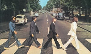 The Beatles' Abbey Road album cover
