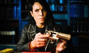 Lisbeth Salander as played by Noomi Rapace in Daniel Alfredson's 2009 film of The Girl Who Played With Fire.