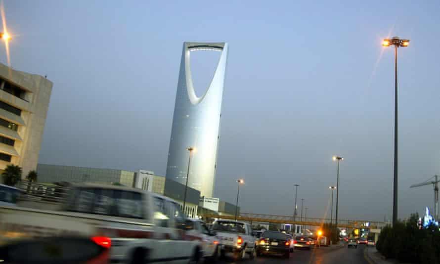 A general view of the Saudi Arabian capital, Riyadh.