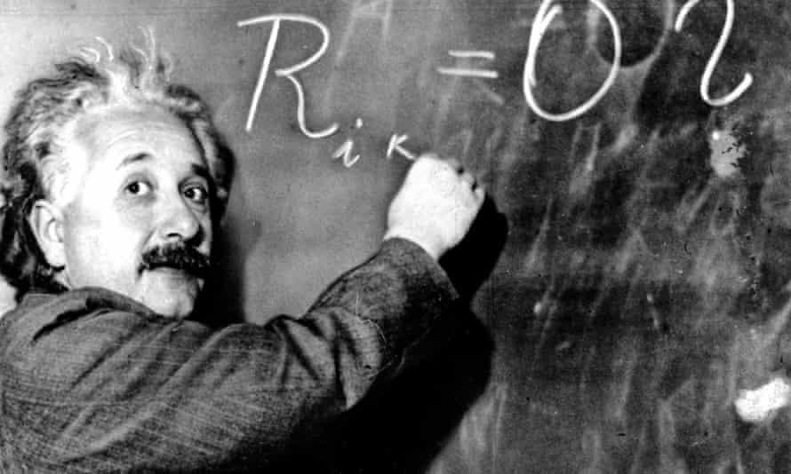 Changing the equation … Albert Einstein.