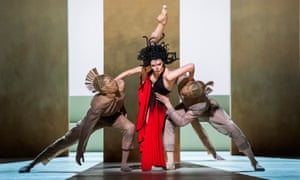 Emoting her heart out … Natalia Osipova in the world premiere of Medusa by Sidi Larbi Cherkaoui.