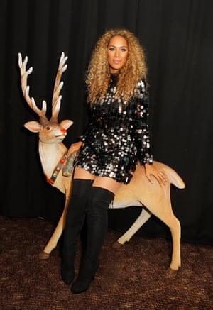 Oh, deer … it's Leona Lewis.
