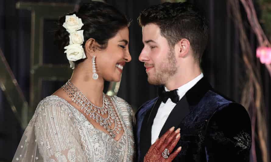 Priyanka Chopra and Nick Jonas get married in India.