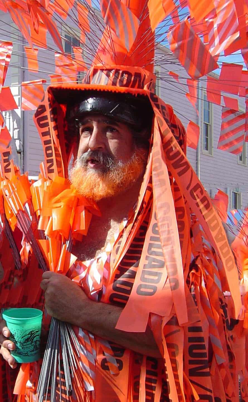 Jim Gabour at Mardi Gras 2006 – a few months after Katrina.