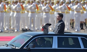 Earlier this month, a massive military parade proclaimed Xi's unassailable position at the party's helm.