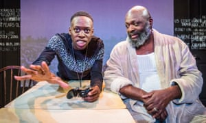 Michael Ajao as Ruffrino Witherspoon and Trevor A Toussaint as his grandfather Matthew.