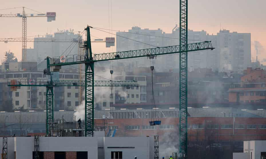 Construction in Madrid