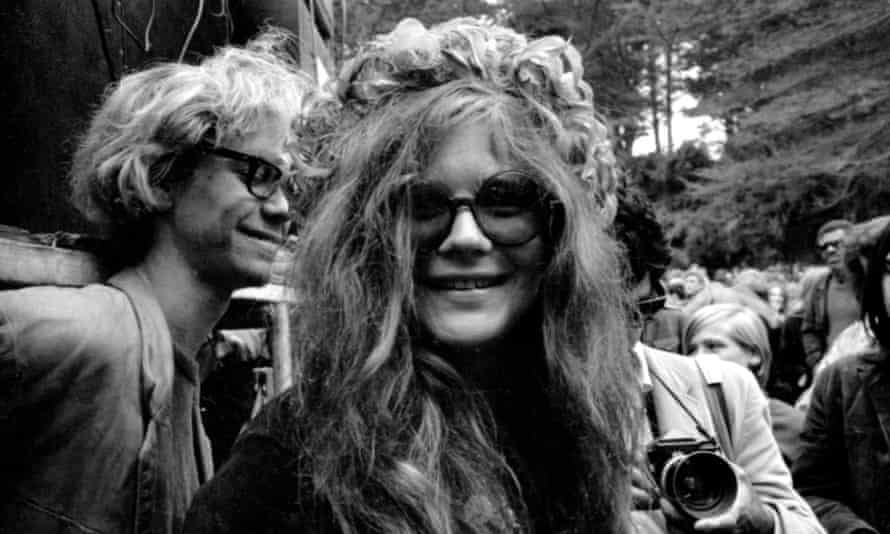 Janis Joplin at the New Year's Wail in Golden Gate Park on January 1, 1967.