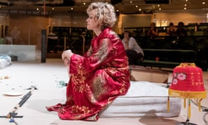 Maxine Peake during rehearsals for A Streetcar Named Desire at the Royal Exchange.
