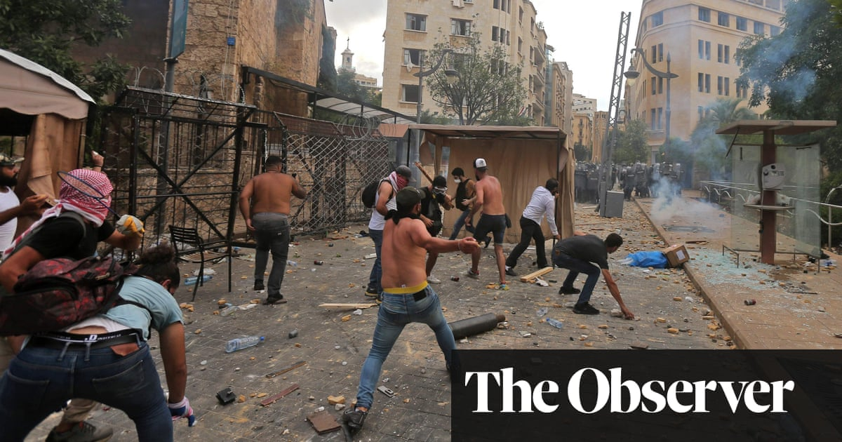 'We need justice': seething protesters descend on the streets of Beirut - The Guardian