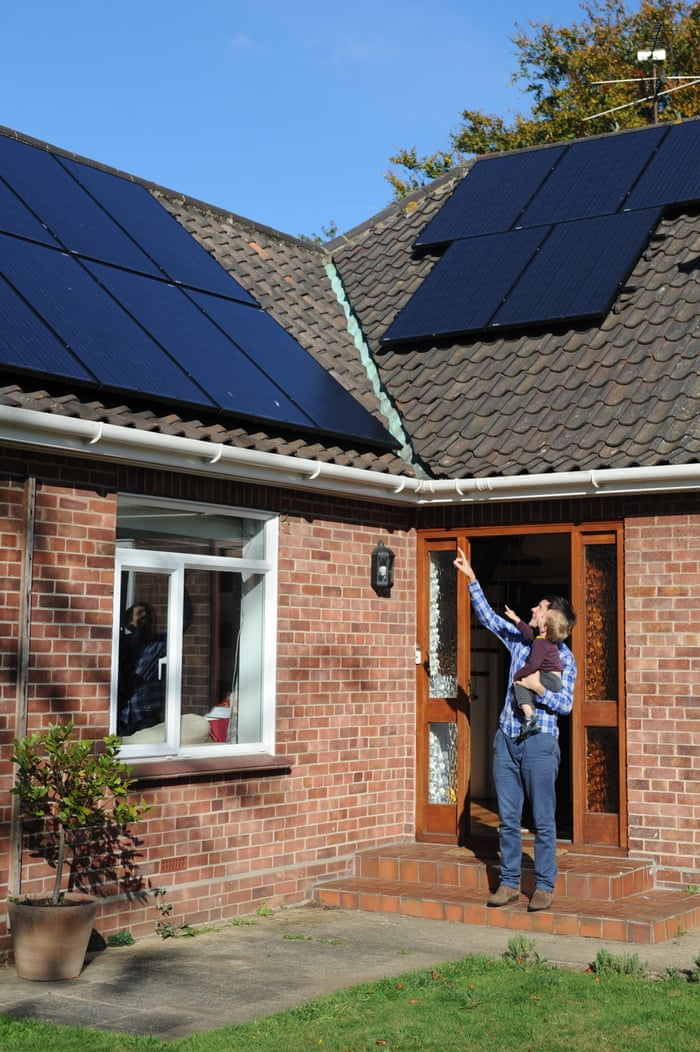 Solar power in crisis: 'My panels generate enough power for two