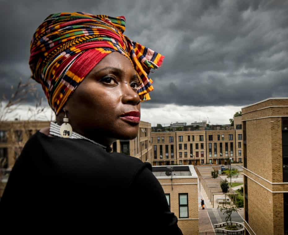 Uzoamaka Okafor, chair of the residents' association at Myatts Field North housing estate in Lambeth, south London.
