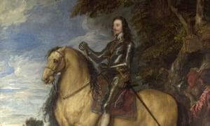 Anthony van Dyck's equestrian portrait of Charles I.