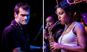 Heartwarming … pianist Andrew McCormack and sax player Camilla George at Ronnie Scott's on 7 February.