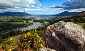 View from Flagstaff Viewpoint in Newry.
