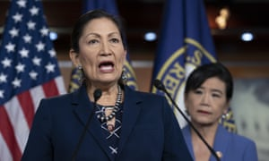 Congresswoman Deb Haaland lobbied for money to be designated to tribes in the multibillion dollar coronavirus aid package.