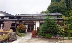 Yanagiya … a sprawling, half-timbered building.