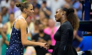 Image result for Serena Williams Karolina Pliskova
