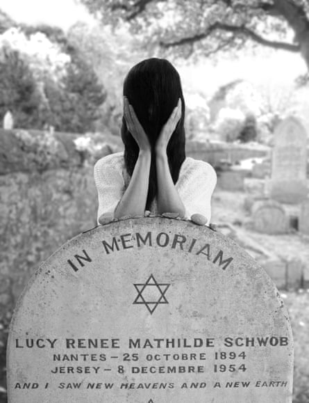 At Claude Cahun's grave, 2015 by Gillian Wearing.