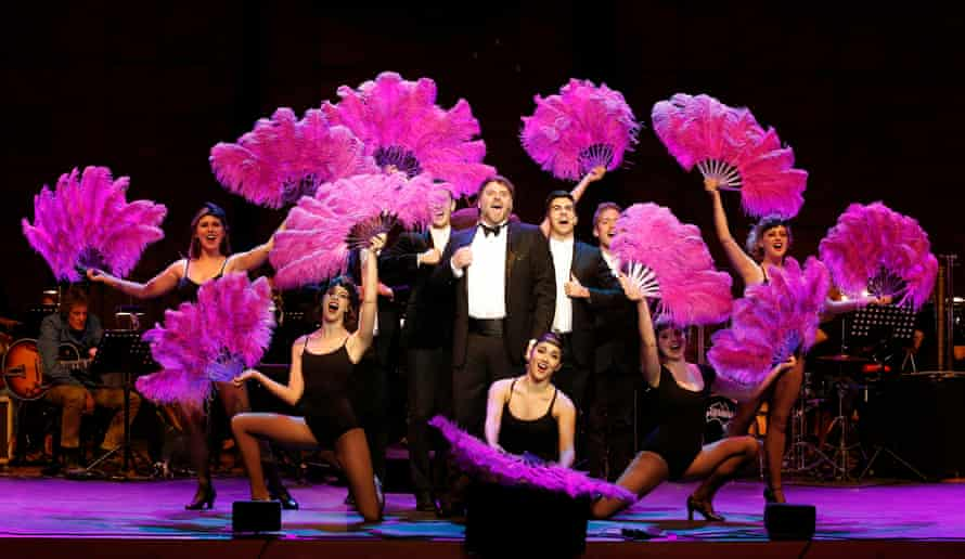 David Rogers Smith and company at Melbourne Recital Centre in Stephen Sondheim's Follies In Concert